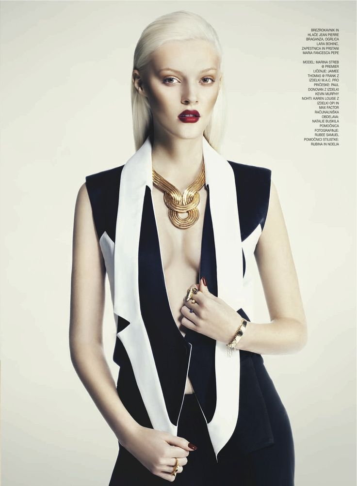 it girl: marina streb by jenny brough for gloss slovenia june 2013   visual optimism; fashion editorials, shows, campaigns & more!
