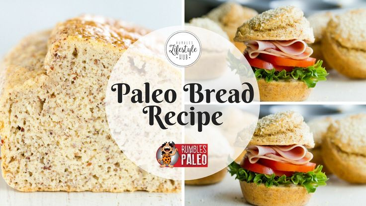 It's bread, but not like you know it - because it's gluten, grain, and dairy-free! Never miss out on the joy of sandwiches again with our simple recipe for Paleo bread.