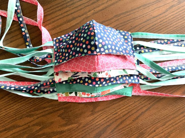 How to Make a Face Mask with Filter Pocket and Fabric Ties