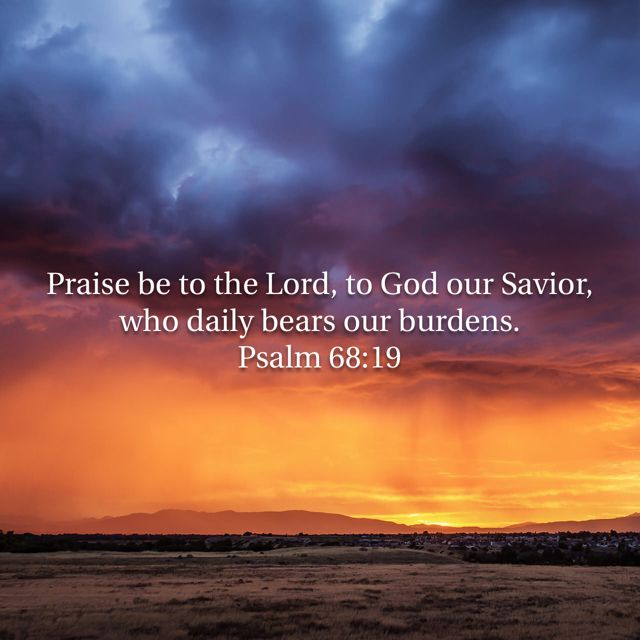 Give your burdens to God