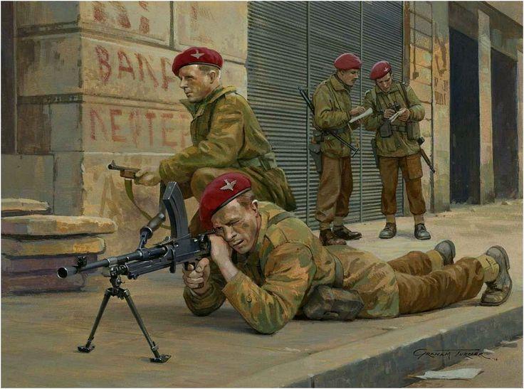 Internal security Operations, Greece, 1944 (Operaciones de Seguridad Interna, Grecia, 1944). Graham Turner