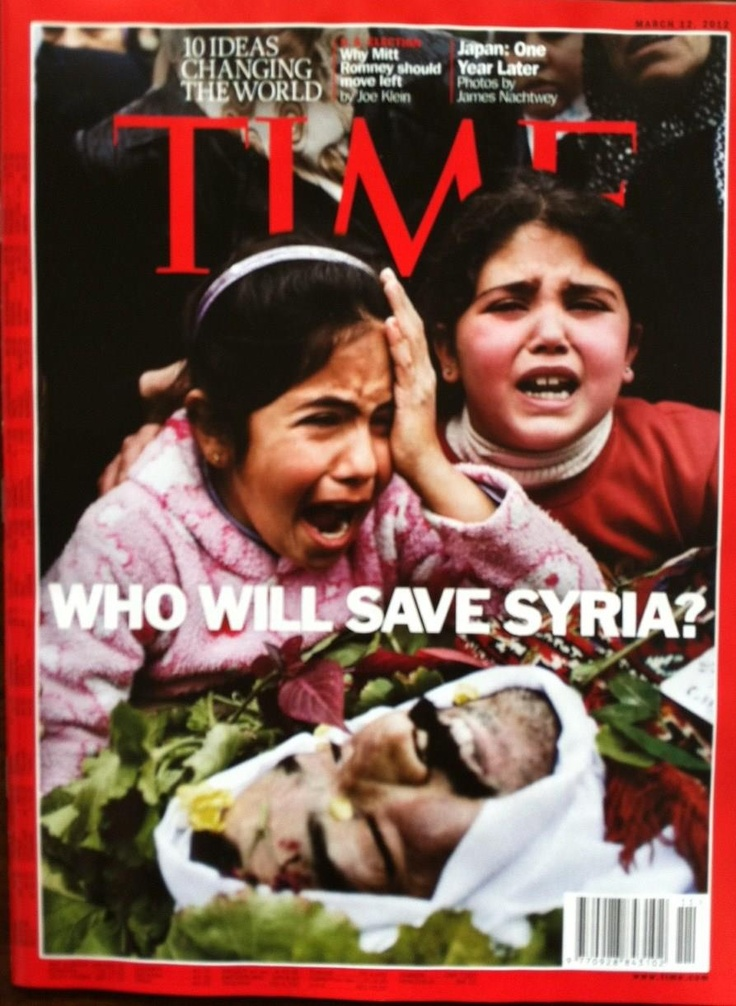 Time - Who will save Syria? Time is now !!! Enough suffering
