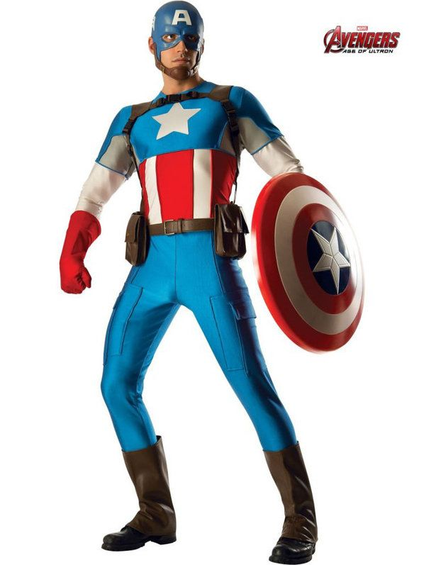 Collector Captain America Marvel Universe Costume Adult