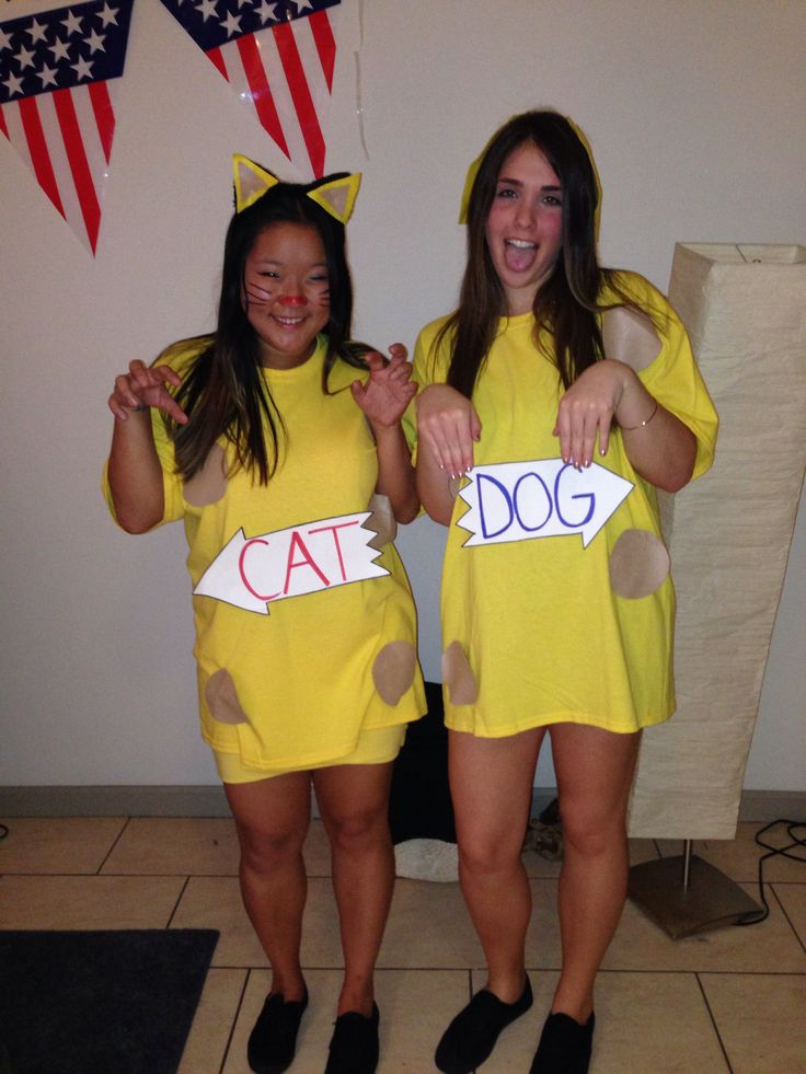 Cat And Dog Halloween Costumes
