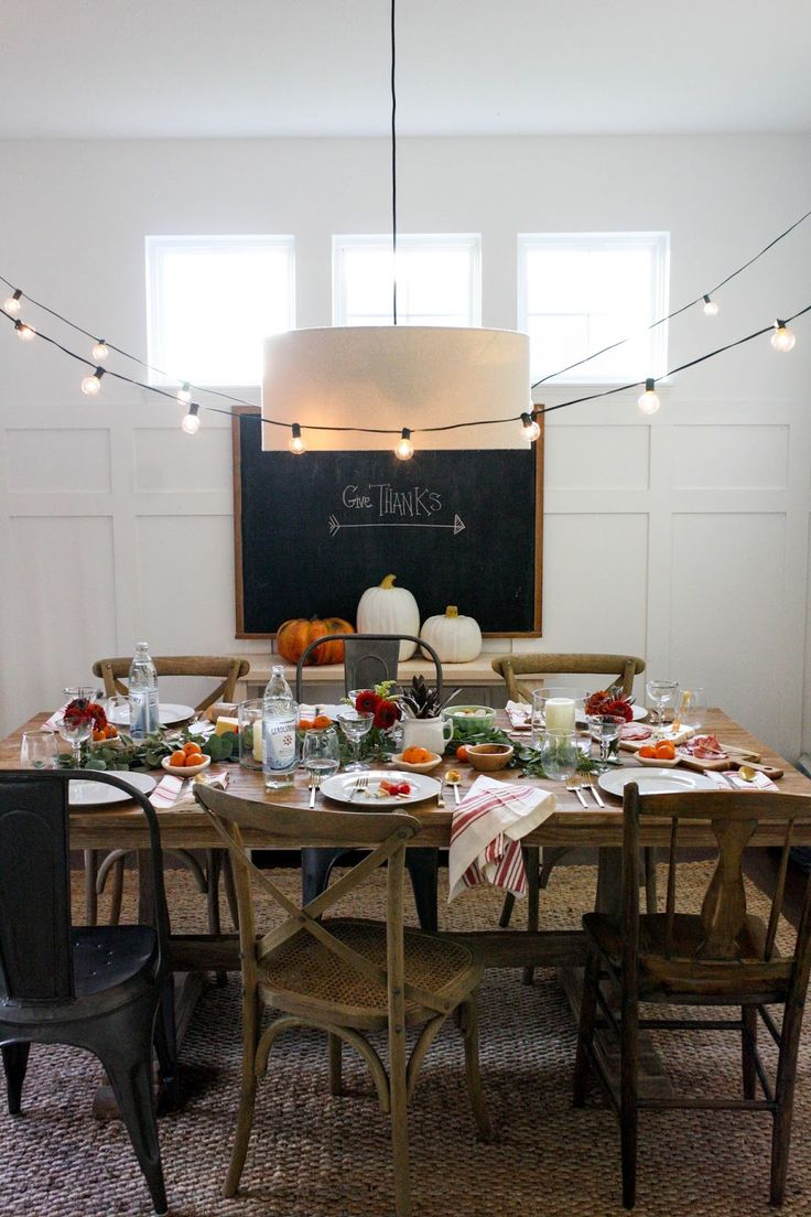 .: Blogger Stylin Home Tour Thanksgiving Table