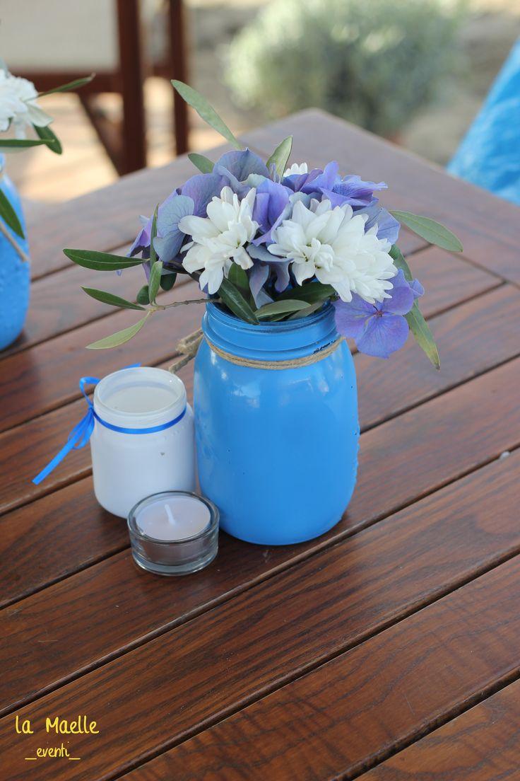 Vasi per candele galleggianti : Oltre 25 fantastiche idee su centrotavola blu su pinterest