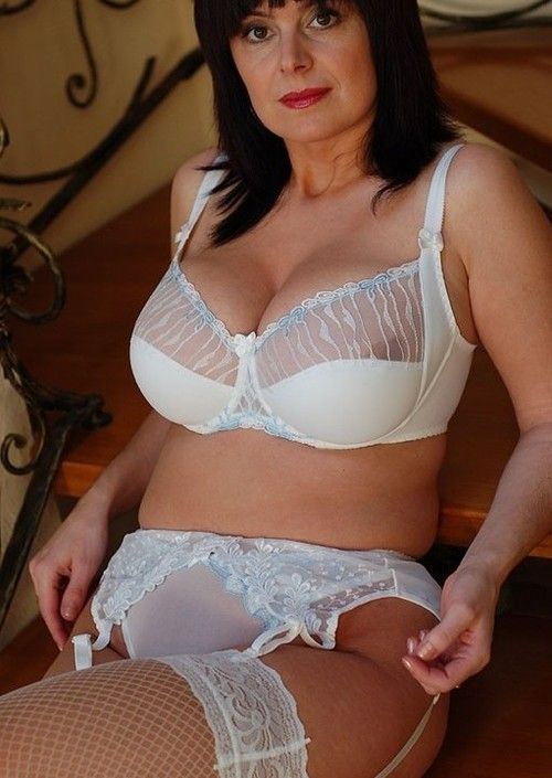 Hot mature white