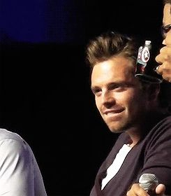 Not that Tumblr needed another SebStan blog... Lip bitting again :3 :3 :3 :3