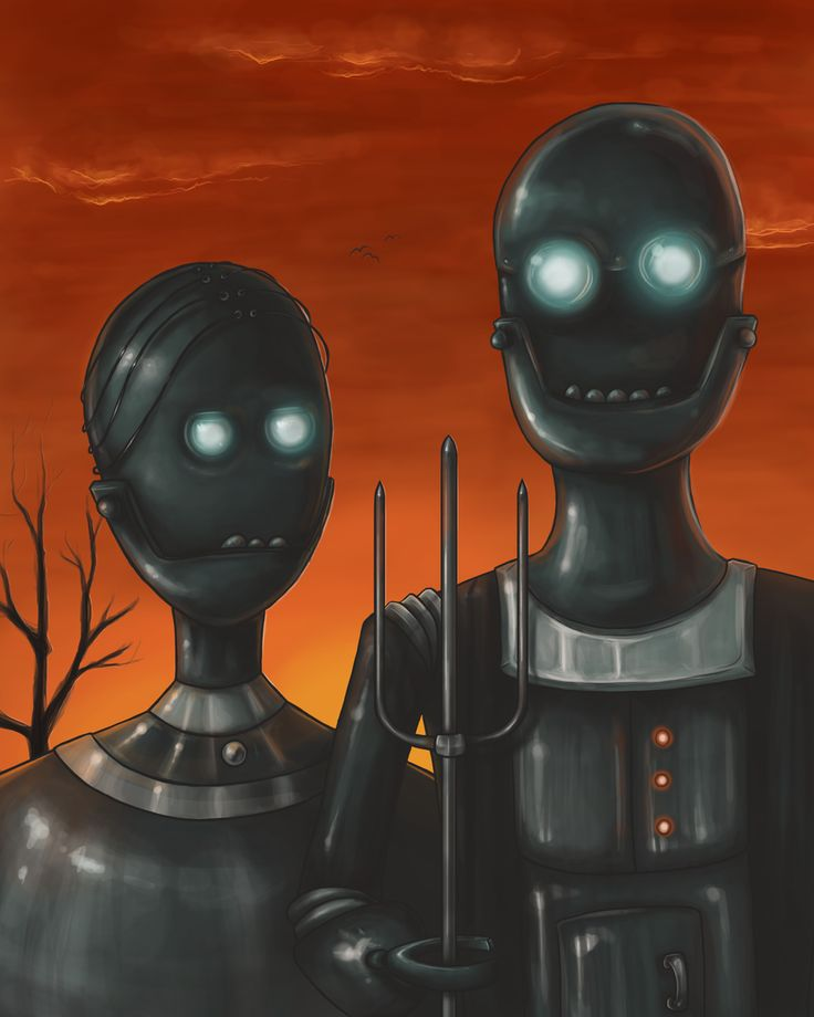 Robotican Gothic by Alex-Plalex.deviantart.com on @deviantART