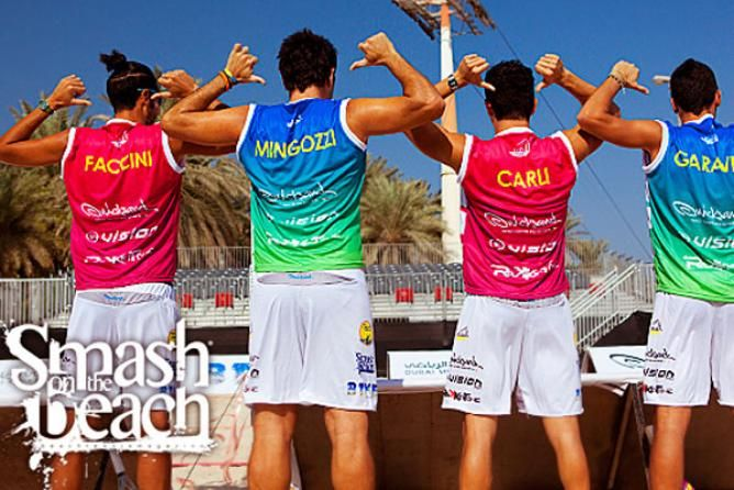 Dubai Beach Tennis Event 2014