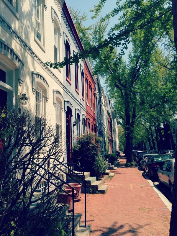 Swann Street, NW in Washington, DC.
