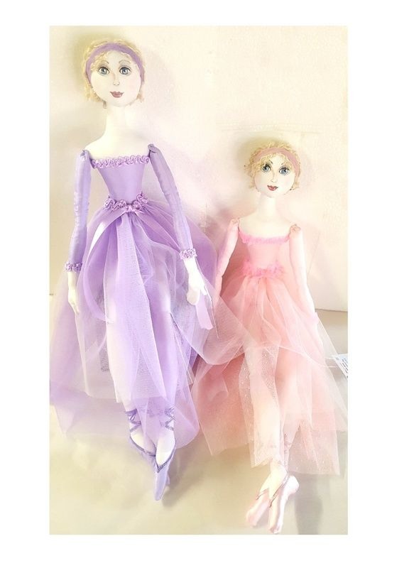 Doll - BALLERINA - Cloth