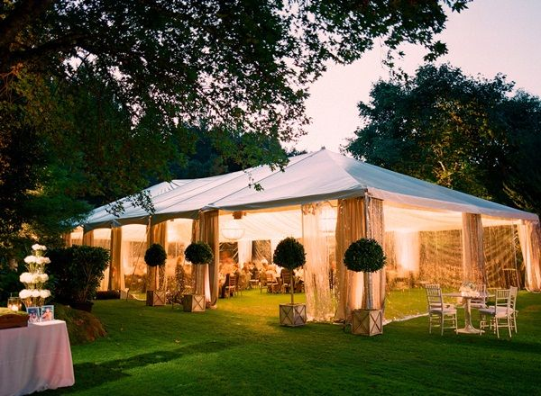 Outdoor tent wedding reception | photography by http://lisalefkowitz.com/