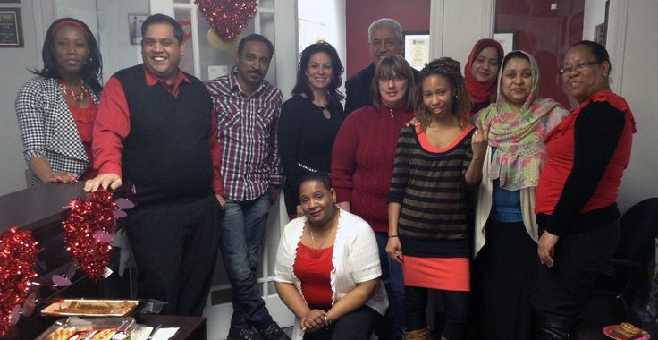 Students and staff at the Mississauga Campus celebrated Valentine's Day with delicious treats.