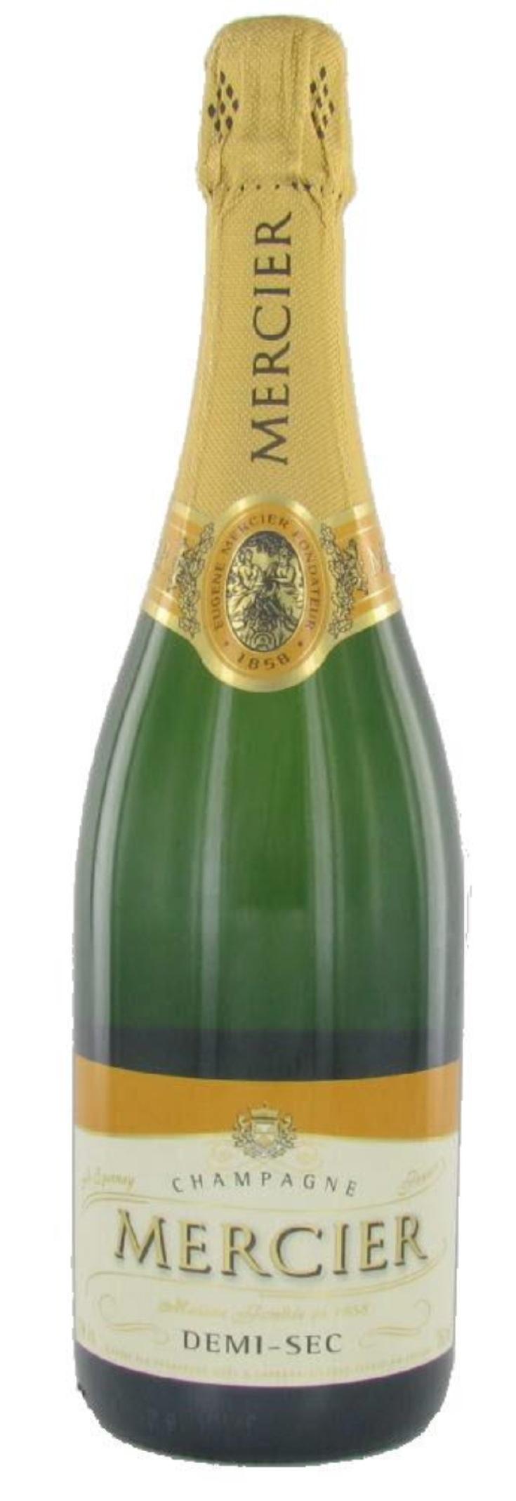 Buy Demi sec champagne.. demi-sec means sweet