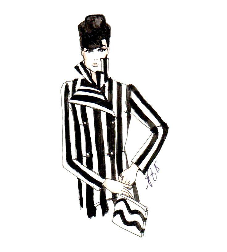 #fashionillustration #casabignami #audreyhepburn