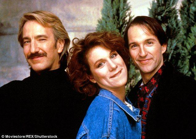 Rickman starred as Jamie alongside Juliet Stevenson, Michael Maloney in Truly, Madly, Deeply