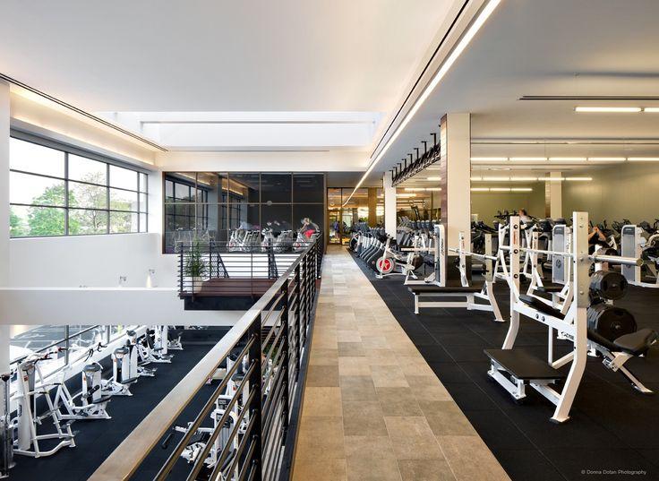 Ceiling Design Gym Interior Equinox Gym