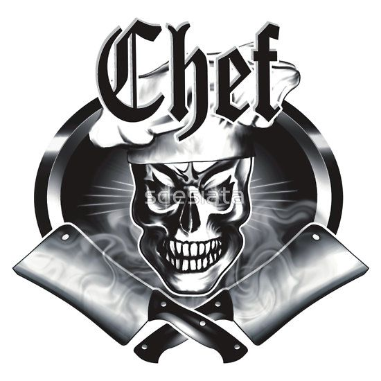 603 best skull chef images on pinterest t shirts shirts and tee shirts. Black Bedroom Furniture Sets. Home Design Ideas