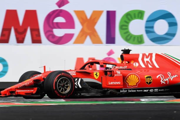 Sebastian Vettel Of Germany Driving The Scuderia Ferrari Sf71h During Ferrari Autódromo Hermanos Rodríguez Sebastian