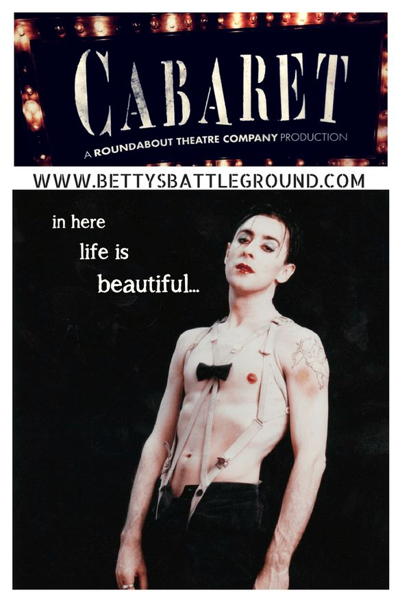 Read about the 2017 national tour of Sam Mendes' production of Cabaret-on bettysbattleground.com