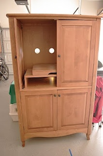 17 best images about sewing armoire on pinterest craft for Craft cupboard with table