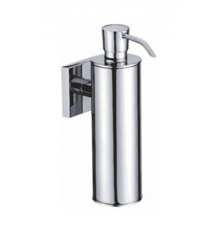 Perk Qubix Soap Dispenser Of H 180 X L 110 X W 53 MM In Chrome (QX-76022)
