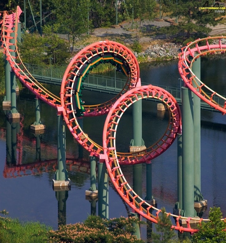 Anaconda - Kings Dominion - Doswell, Virginia - It was like a cross between Busch Gardens, Williamsburg Lochness and Alpengeist. Not my favorite. Once was enough for me.