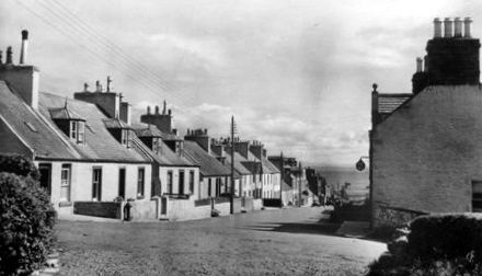 Old photograph of Drummore, Wigtownshire, Scotland