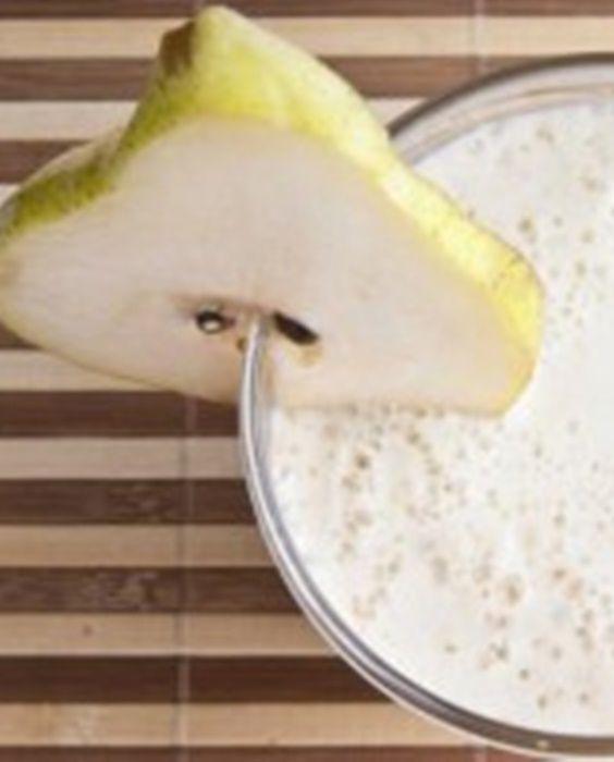 ¡Pierde peso con este sabroso #Batido adelgazante de pera y almendras! #ProteinShakes