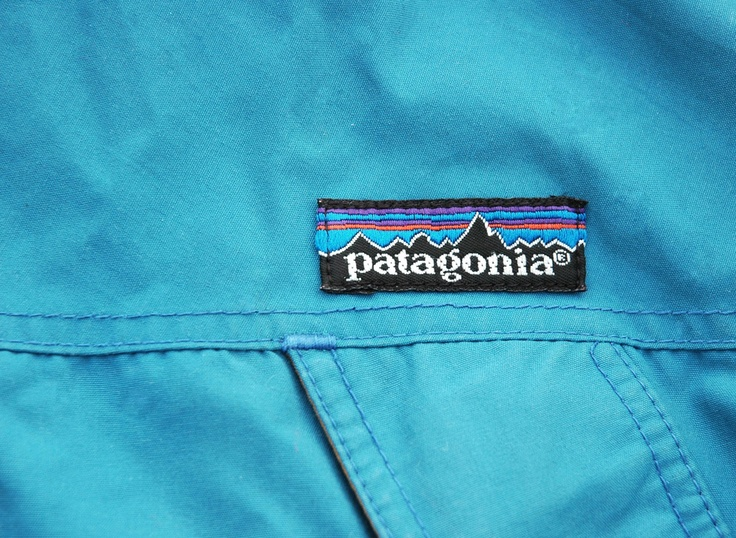 Grubby Mits — Vintage Teal Patagonia Pullover Jacket Size XL