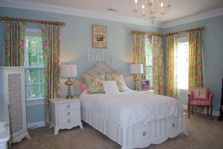 Darling Big Girl Room Designed By The Fab Love Custom Window Panels Find This Pin And More On Lauren Nicole Designs Childrens Rooms Gallery