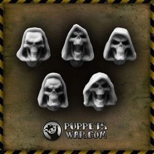 I  guess this set of Hooded Skulls will mix extremaly well with recently released Tormentor Bodies. What do You think? https://puppetswar.eu/product.php?id_product=501
