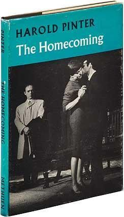 """""""The Homecoming"""" by Harold Pinter   Methuen   #bookcover"""
