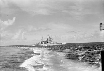 BEFORE THE ATTACK ON SURABAYA. MAY 1944 ON BOARD HMS RENOWN WITH THE EASTERN…