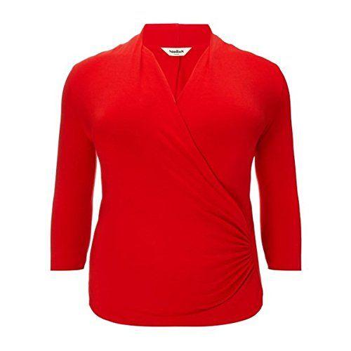 (スタジオ8) Studio 8 レディース トップス ブラウス Studio 8 Plus Size Agatha ruched jersey top 並行輸入品  新品【取り寄せ商品のため、お届けまでに2週間前後かかります。】 カラー:レッド 素材:-