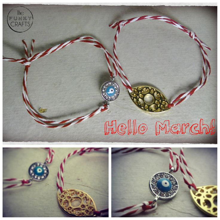 ''martakia'' march bracelets, μαρτάκια, martis