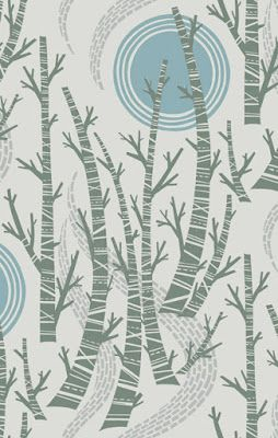 great creative job ideas and artists' backgrounds WALLPAPER/FABRIC - angie lewin