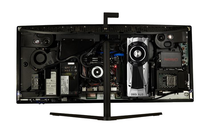 Origin's 34-inch all-in-one Omni gaming PC is now shipping: Origin's 34-inch all-in-one Omni gaming PC is now shipping:…