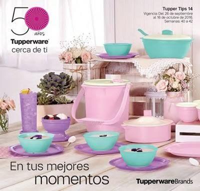 catalogo tupperware tupper tips 14 de 2016