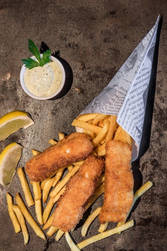 FISH AND CHIPS AM GERMANIA CAMPUS