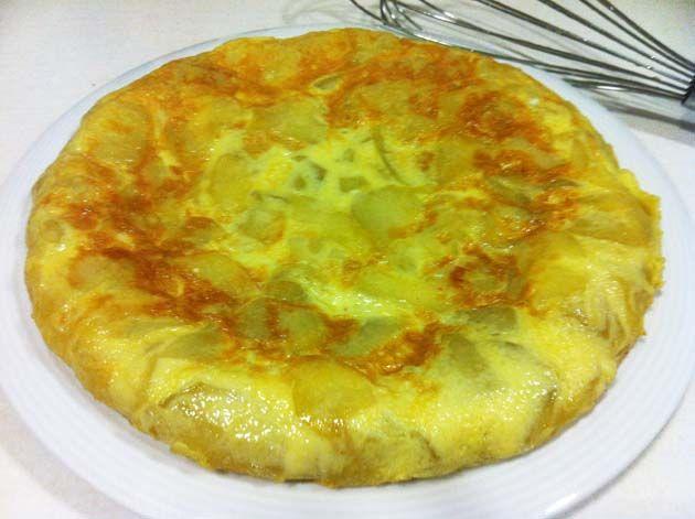 Tortilla de calabacín y patata - DIVINA COCINA
