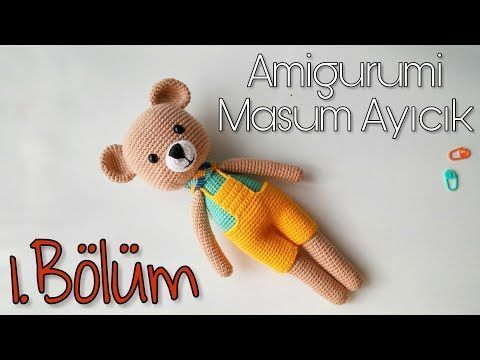 Amigurumi crochet Care Bear tutorial part 4 - YouTube | 360x480