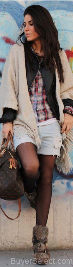 PIMPKIE Capes, ZARA Shirt/Blouses, LOUIS VUITTON Bags