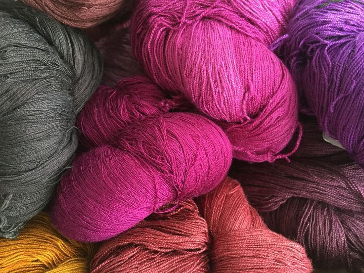 Colours | Yarn | Thread | Natural Fibre | Plantation House
