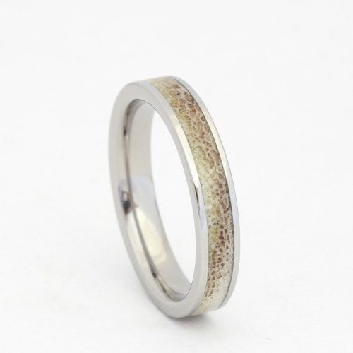 Dainty Deer Antler Wedding Band by jewelrybyjohan on Etsy, $299.00
