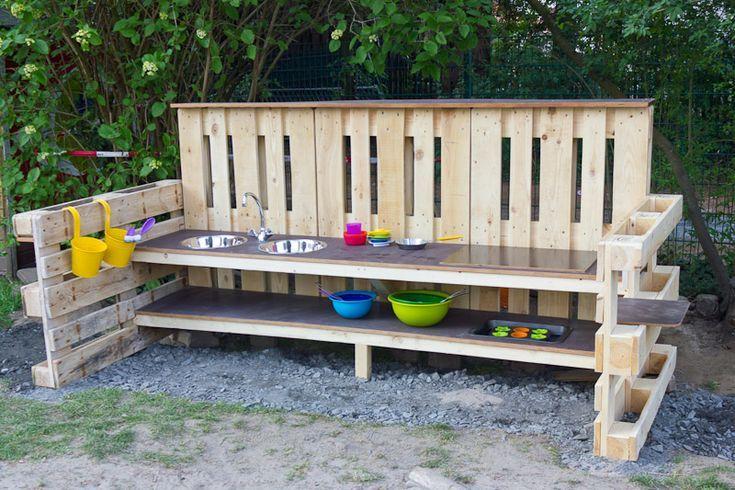 Matschkuche Aufbewahrung Garten Kinderspielzeug Garten Kinder Spielplatz Garten