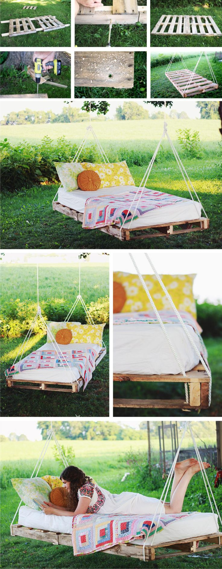 DIY : swing bed