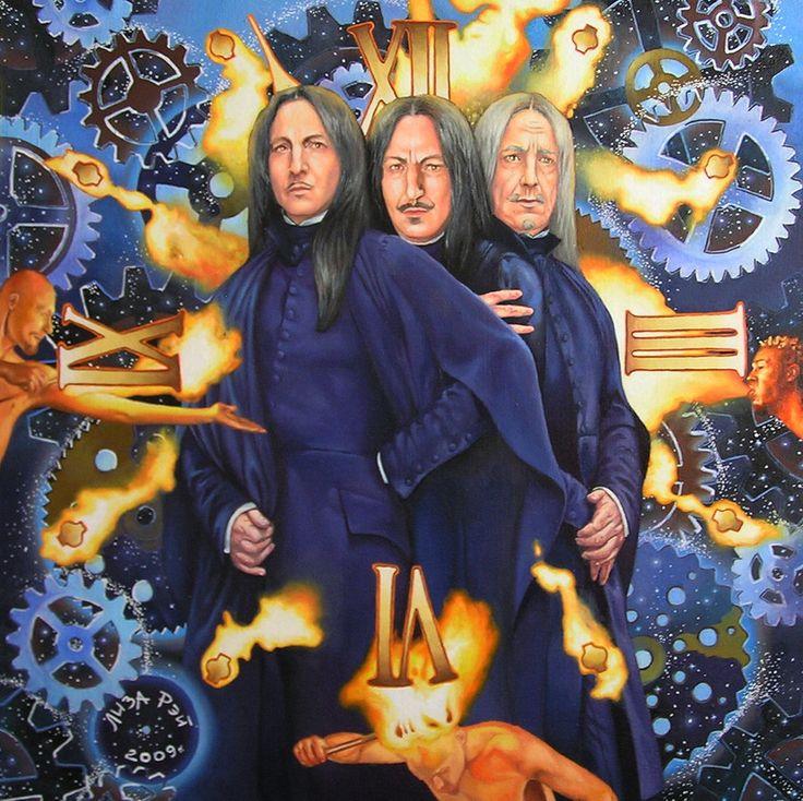 Dieu est trois personnes - Past, Present, Future par lizaray
