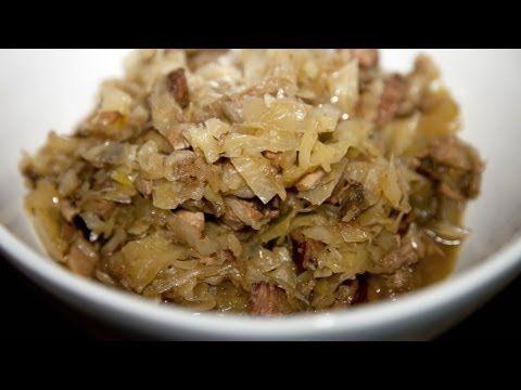 Hunter's Stew - Bigos - Ania's Polish Food Recipe #26